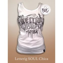 LETTERING SOUL BLANCA CHICA