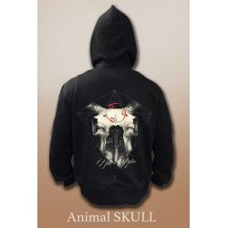 SUDADERA ANIMAL SKULL